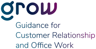 grow – Guidance for Customer Relationship and Office Work